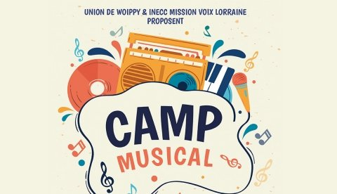 image pour Camp musical